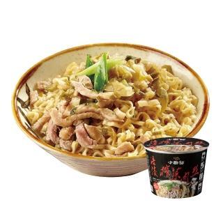 【小廚師】涪陵榨菜肉絲麵 194gx6桶(嚴選來自四川重慶涪陵榨菜)
