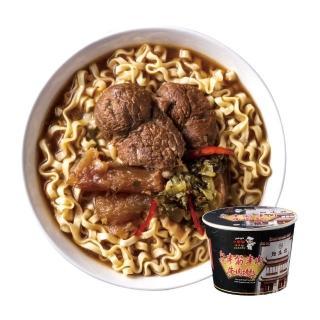 【小廚師】紅燒半筋半肉牛肉麵 269g*6桶(評鑑五顆星 點水樓監製)
