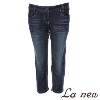 【La new】大彈力中腰牛仔七分褲(女70801098)