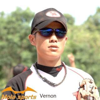【MOLA】摩拉運動太陽眼鏡墨鏡 男女 一般臉型 UV400 防紫外線 Vernon-b