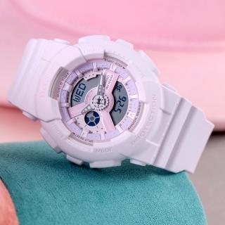 【CASIO 卡西歐】BABY-G 羅蘭甜心潮流腕錶(BA-110-4A2DR)