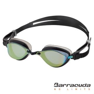 【Barracuda 巴洛酷達】成人競技抗UV防霧泳鏡-FENIX #72710(抗UV防霧廣角專利波浪舒適護墊)