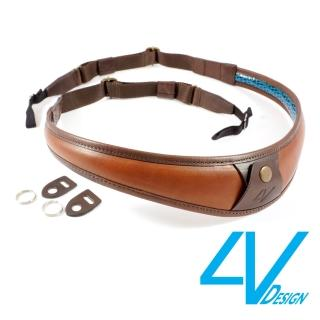 【4V Design】ALA-TOP系列相機背帶 LU-VV2324-棕/棕色(L)