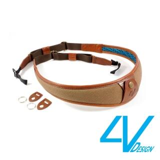 【4V Design】ALA系列相機背帶 LU-CV2223-棕/棕色/L(彩宣總代理)