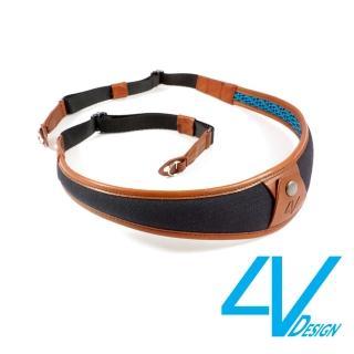【4V Design】ALA系列相機背帶 LR-CV0923-黑/棕色/L(彩宣總代理)