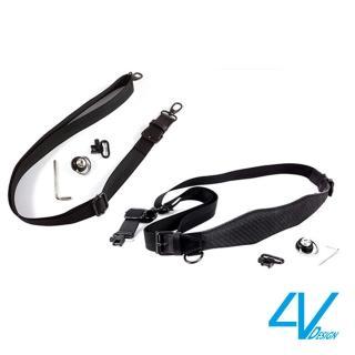 【4V Design】VERSIS DUO KIT模組化組合背帶-VB6VSDU09K-黑/黑色