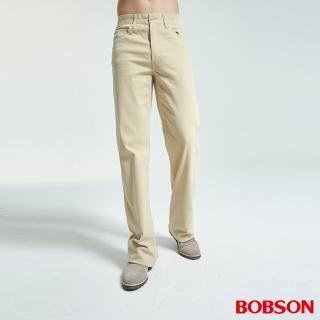 【BOBSON】男款伸縮直筒褲(1705-71)