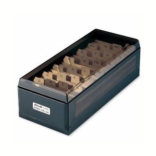 【KW-triO】800片名片盒 04800(兩邊可掀易於存取名片/大容量收納名片)