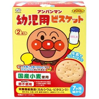 【不二家】麵包超人牛乳餅84g