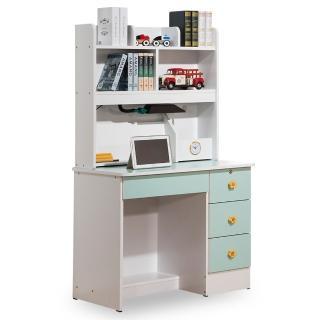 【時尚屋】伊妮德3尺書桌 CV7-12-1(兩色可選 免組裝 免運費 書桌)