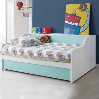 【AS】晴天3.5尺母子床邊櫃組-195x142.5x90cm