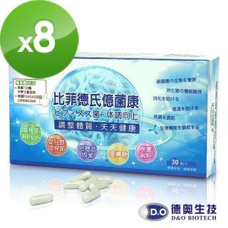 【德奧】日本森永比菲德氏億菌康x8盒(30粒/盒)