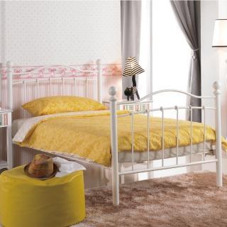 【AS】愛爾西3.5尺白色鐵床台-111x197x106.5cm