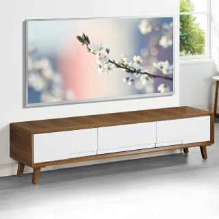 【Bernice】納倫斯6尺三抽電視櫃/長櫃