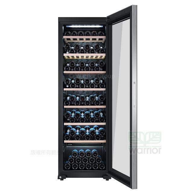 【Haier 海爾】電子式恆溫儲酒冰櫃 JC-366TW(電子式恆溫儲酒冰櫃)