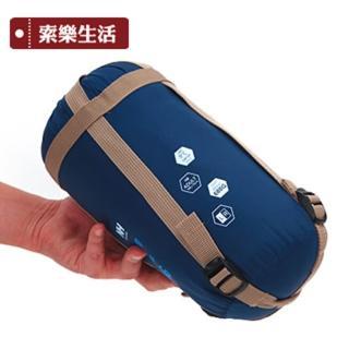 【索樂生活】露營保暖超輕睡袋(戶外露營裝備旅行睡袋保暖睡袋便攜式睡袋登山旅遊透氣輕量)