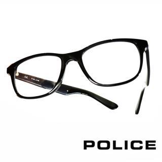 【POLICE】義大利警察都會款個性型男眼鏡(POV1792M0700 -黑)