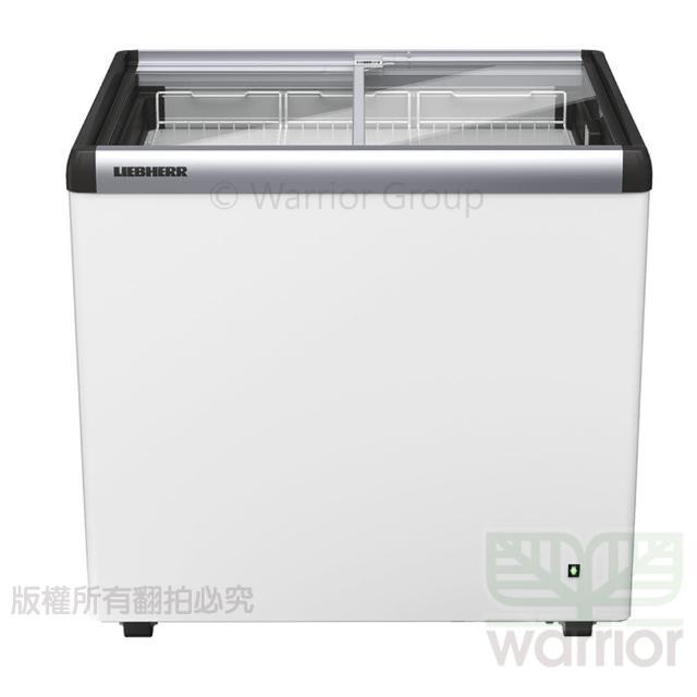 【LIEBHERR 利勃】德國利勃LIEBHERR 2尺8 玻璃推拉冷凍櫃 EFE-2102(玻璃推拉冷凍櫃)