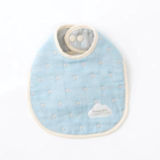 【MARURU】日本六層紗口水圍兜 北歐星空(日本六層紗圍兜/多層紗口水巾)