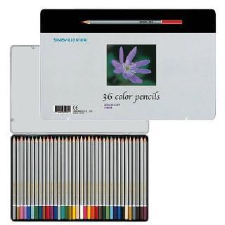 【雄獅文具】C3600/8  雄獅36色塗頭色鉛筆