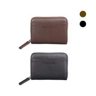 【Crocodile】荔紋系列Easy輕巧零錢包   0103-08005(義大利真皮皮革)