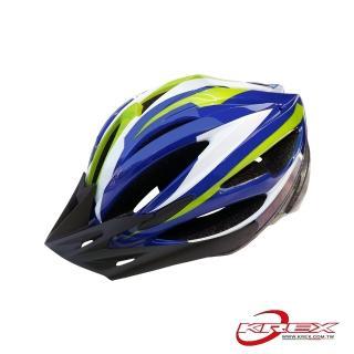 【KREX】CS-1800 拉風款自行車專用安全帽(藍色)