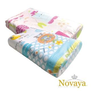 【Novaya 諾曼亞】《微笑寶貝》恆溫水冷凝膠人體工學兒童枕(9款)