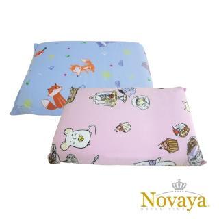 【Novaya 諾曼亞】《微笑寶貝》天然乳膠中童枕(6款)
