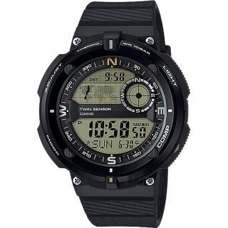 【CASIO 卡西歐】SPORTS GEAR 戶外運動錶(SGW-600H-9ADR)
