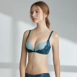 【瑪登瑪朵】Soft Up 無鋼圈內衣 B-E罩杯(簡約藍)