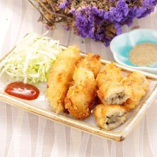 華得水產-日本爆漿大牡蠣8包組(500g/包)