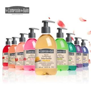 【法國Le CompToiR du Bain 芭朵集團】古法馬賽液態皂500mlx1(味道任選)