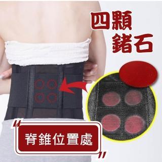 【JS嚴選】*全新升級六條軟鋼條*鍺元素高機能調整護腰帶(鍺護腰帶+隨機棉背心)