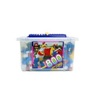 【OK - 教學積木】益智基本顆粒積木大收納箱 800 pcs