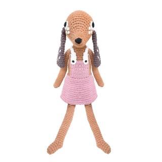 【sebra】狗狗鉤針娃娃-粉色