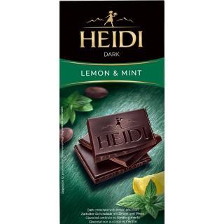 【HEDY 赫蒂】檸檬薄荷黑巧克力80g