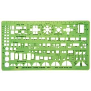 【MBS萬事捷】906 室內設計板(1/100)
