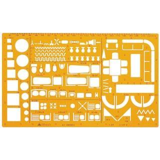 【MBS萬事捷】923 室內設計板(1/50)