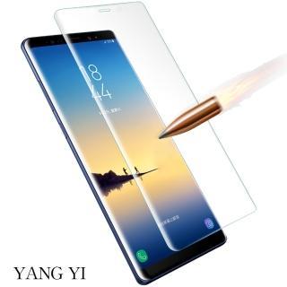 【YANG YI 揚邑】Samsung Galaxy Note 8 6.3吋 滿版鋼化玻璃膜3D曲面防爆抗刮保護貼