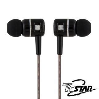 【T.C.STAR】有線入耳式耳機麥克風/黑(TCE7005BK)