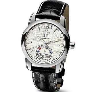 【TITONI 梅花錶】Master Series 天文台認證機械腕錶(94888 S-ST-297)