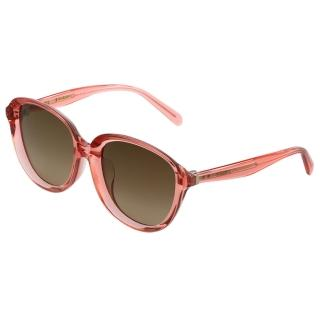 CELINE-復古內凹 太陽眼鏡 (果凍粉)CL41453