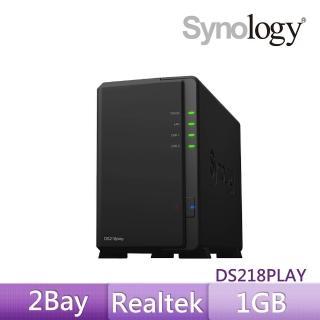 【Synology 群暉科技】DS218play 網路儲存伺服器