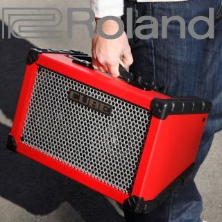 【ROLAND 樂蘭】可電池供電立體聲擴大音箱 / 贈導線 公司貨(CUBE Street)