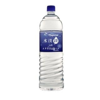【水渼鎂】百分之百太平洋深海離子水(1500ml_一箱12瓶)