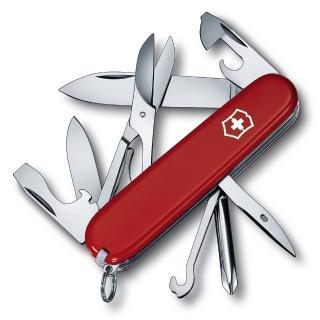 【VICTORINOX 瑞士維氏】超級修補匠15用瑞士刀(紅)