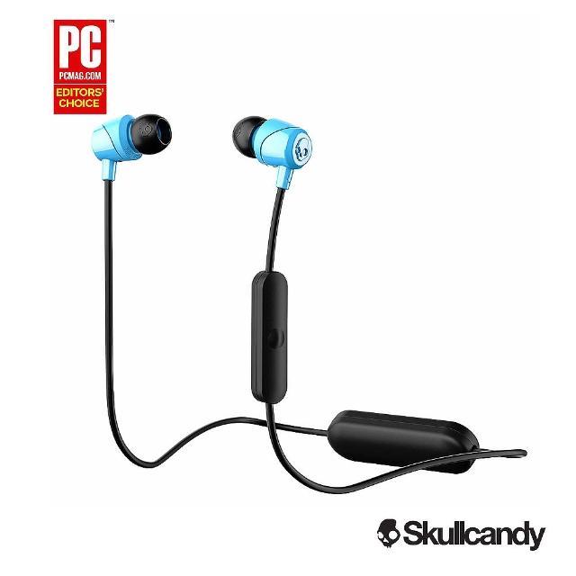 【Skullcandy 美國潮牌】JIB 吉寶 藍牙耳機-藍色(公司貨)