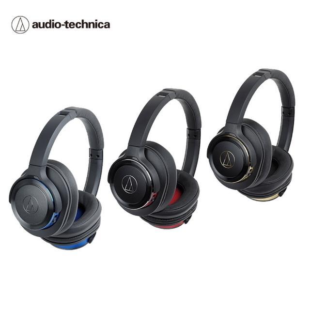 【audio-technica 鐵三角】ATH-WS660BT SOLID BASS無線耳罩式重低音耳機