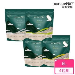 【NurturePRO 天然密碼】豆腐貓砂 6L(4包組)