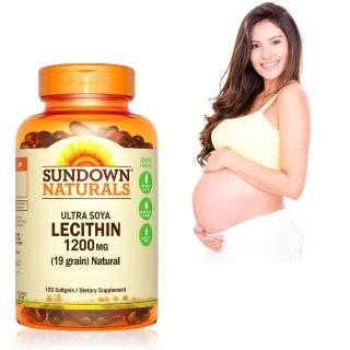 【Sundown 日落恩賜】頂級61%卵磷脂膠囊(100粒/瓶)
